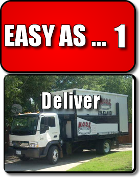 MODS Easy as Deliver brings a POD right to your residence in Fort Worth for you to begin the process of moving or just making room at the homestead