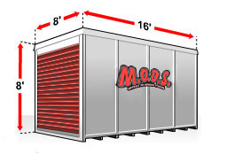 Mods, compared to PODS®, Moves Mobile on Demand Storage better than other containers for Fort Worth, Oklahoma City, Amarillo, and Dallas Texas