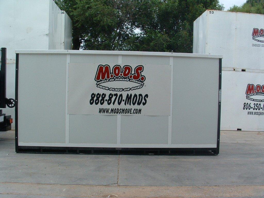 Storage Sizes We Offer