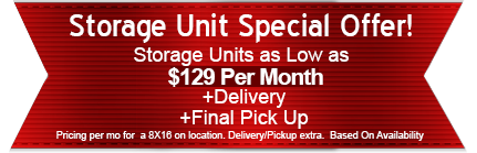 Storage Unit Special Offer
